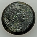 Ancients:Greek, Ancients: CORINTHIA. Corinth. Roman rule. Ca. 34-31 BC. Æ 23mm(7.89 gm)....