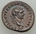 Ancients:Roman Imperial, Ancients: Domitian, as Caesar (AD 69-81). AR denarius (3.28 gm)....