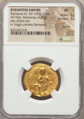 Ancients:Byzantine, Ancients: Romanus III Argyrus (1028-1034). AV histamenon nomisma (4.37 gm)....