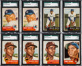 Baseball Cards:Lots, 1953 Topps Baseball Collection (879) With 245 High Numbers. ...