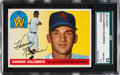 Baseball Cards:Singles (1950-1959), 1955 Topps Harmon Killebrew #124 SGC 92 NM/MT+ 8.5....