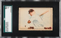 Baseball Cards:Singles (1950-1959), 1952 Berk Ross Mickey Mantle SGC 84 NM 7....