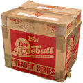 Baseball Cards:Unopened Packs/Display Boxes, 1981 Topps Baseball Traded Unopened Case With 100 Sets! ...