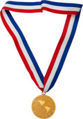 Basketball Collectibles:Others, 1992 Dream Team Gold Medal From the Tournament of the Americas -Fischer Collection....
