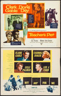 """Movie Posters:Romance, Teacher's Pet & Other Lot (Paramount, 1958). Half Sheets (2) (22"""" X 28"""") Style A. Romance.. ... (Total: 2 Items)"""