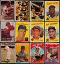 Baseball Cards:Lots, 1957-59 Topps Baseball Collection (167) With Stars & HoFers....