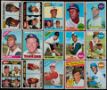 Baseball Cards:Lots, 1965-69 Topps Baseball Collection (152) With Stars & HoFers....