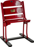 Basketball Collectibles:Others, 1967-94 Chicago Stadium Wooden Seat. ...