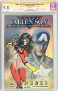 Modern Age (1980-Present):Superhero, Fallen Son: The Death of Captain America #2 Signature Series(Marvel, 2007) CGC NM/MT 9.8 White pages....