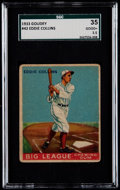Baseball Cards:Singles (1930-1939), 1933 Goudey Eddie Collins #42 SGC 35 Good+ 2.5....