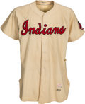 Baseball Collectibles:Uniforms, 1952 Early Wynn Game Worn Cleveland Indians Jersey....