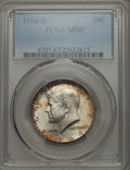 Kennedy Half Dollars, 1964-D 50C MS67 PCGS. PCGS Population (43/1). NGC Census: (11/0).Mintage: 156,205,440. Numismedia Wsl. Price for problem f...