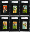 Boxing Cards:General, 1910 T229 Pet Cigarettes Collection (8). ...