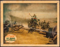 "Movie Posters:Action, The Charge of the Light Brigade (Warner Brothers, 1936). LinenFinish Lobby Card (11"" X 14""). Action.. ..."