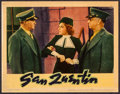 "Movie Posters:Crime, San Quentin (Warner Brothers, 1937). Lobby Card (11"" X 14""). Crime.. ..."