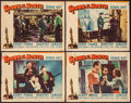 "Movie Posters:Action, Spawn of the North (Paramount, 1938). Lobby Cards (4) (11"" X 14"").Action.. ... (Total: 4 Items)"