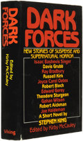 Books:Horror & Supernatural, Kirby McCauley (editor). INSCRIBED. Dark Forces: New Stories ofSuspense and Supernatural Horror. New York: The ...
