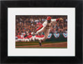Baseball Collectibles:Others, 2000's Bob Gibson Original Artwork by Bill Purdom....