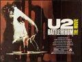 "Movie Posters:Rock and Roll, U2: Rattle and Hum (Paramount, 1988). British Quad (30"" X 40"").Rock and Roll.. ..."