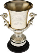 Miscellaneous Collectibles:General, 1970 Colonel Parker Trophy for Elvis Presley Summer Festival.. ...