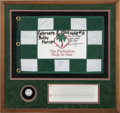 Baseball Collectibles:Others, 2004 Bobby Murcer Signed Hole-In-One Display....