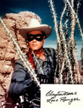 Autographs:Celebrities, [The Lone Ranger] Clayton Moore Autograph. ...