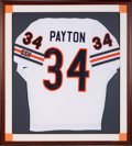 Football Collectibles:Uniforms, 1985 Walter Payton Signed Chicago Bears Jersey.. ...
