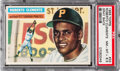 Baseball Cards:Singles (1950-1959), 1956 Topps Roberto Clemente (Gray Back) #33 PSA NM-MT+ 8.5....