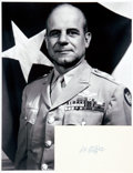 Autographs:Military Figures, [Aviation] [Medal of Honor] Jimmy Doolittle Autograph. ...