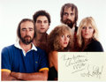 Autographs:Celebrities, [Fleetwood Mac] Christine McVie and Stevie Nicks Autographs. ...