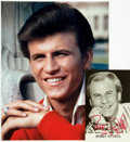 Autographs:Celebrities, Bobby Rydell Autographed Photo. ...