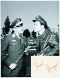 Autographs:Celebrities, [Hogan's Heroes] Werner Klemperer Autograph. ...