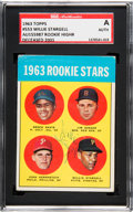 Autographs:Sports Cards, Signed 1963 Topps Willie Stargell - 1963 Topps Rookie Stars #553SGC Authentic. ...