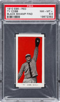 "Baseball Cards:Singles (Pre-1930), 1910 E98 ""Set of 30"" Ty Cobb - Red (Black Swamp Find) PSA NM-MT+8.5...."