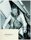 Autographs:Military Figures, [X-15] [Astronaut] Robert A. Rushworth Autograph....