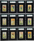 Baseball Cards:Sets, 1911 D311 Pacific Coast Biscuit Co. PCL Baseball Complete set (72). ...