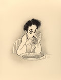 Paintings, Al Hirschfeld (American, 1903-2003). Comedians Suite. Lithograph in colors. 22 x 17 in. (sheet, each). Each signed and n...