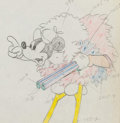 Animation Art:Production Drawing, Moose Hunters Mickey Mouse Animation Drawing (Walt Disney,1937)....