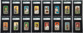 Baseball Cards:Sets, 1909-11 T206 Sweet Caporal/Piedmont Partial Set (151) - WithCobb/Green Portrait. ...