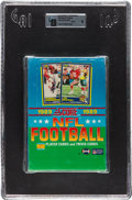 Football Cards:Unopened Packs/Display Boxes, 1989 Score Football Display Box With 36 Unopened Packs GAI Mint 9. ...