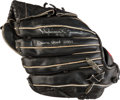Baseball Collectibles:Others, 2001 Mariano Rivera Game Used Fielder's Glove - Gifted to FormerRoommate of Rivera's. ...