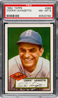 Baseball Cards:Singles (1950-1959), 1952 Topps Cookie Lavagetto #365 PSA NM-MT 8....