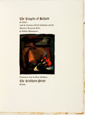 Books:Literature Pre-1900, [Grabhorn Press]. William Shakespeare. LIMITED. The Tragedy of Richard the Third. The Grabhorn Press, 1912. ...