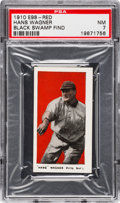 "Baseball Cards:Singles (Pre-1930), 1910 E98 ""Set of 30"" Honus Wagner - Red (Black Swamp Find) PSA NM7. ..."