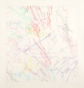 Post-War & Contemporary:Contemporary, Ingrid Calame (b. 1965). Working Drawing #41, 1999. Coloredpencil on mylar. 30 x 30 inches (76.2 x 76.2 cm). Signed, ti...