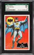 "Non-Sport Cards:Singles (Post-1950), 1966 Topps Batman ""The Batman #1 SGC 96 Mint 9 - The Finest in anSGC Holder! ..."