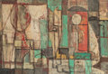 Post-War & Contemporary:Abstract Expressionism, William Baziotes (1912-1963). The Boudoir, 1944. Oil oncanvas. 35 x 50 inches (88.9 x 127 cm). Signed lower right:Ba...