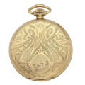 Timepieces:Pocket (post 1900), Illinois 19 Jewel Open Face Pocket Watch. ...