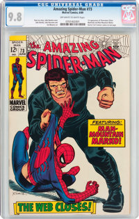 The Amazing Spider-Man #73 (Marvel, 1969) CGC NM/MT 9.8 Off-white to white pages