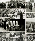 Books:Prints & Leaves, [Protest Marches]. Collection of Twenty-Six Photographs and PressPrints Relating to Protest Marches.. ...